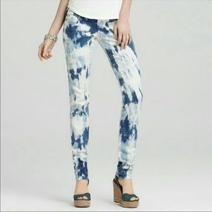 Tie dye skinny TRUE RELIGION STELLA jeans 26